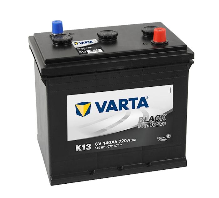 Batteri K13 PRO black VP140 6V