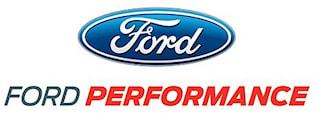 Ford Racing Skylt