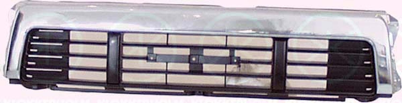 Kylargrill, krom/svar-91