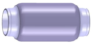 Flexrör 55,6x190