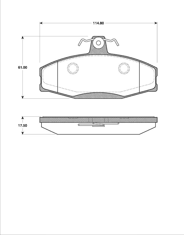 Belägg HP T5054