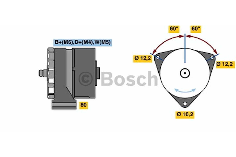 Generator utbytes 28V/27A