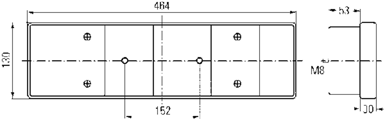 Baklykta vä/hö Scania 3-serie