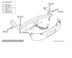 Avtagbar dragkrok 4WD