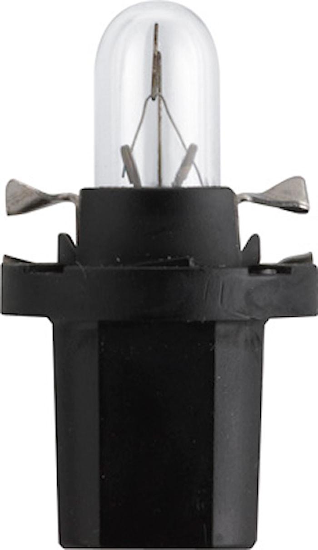 Glödlampa 12V 1,2W BAX8,5d/2