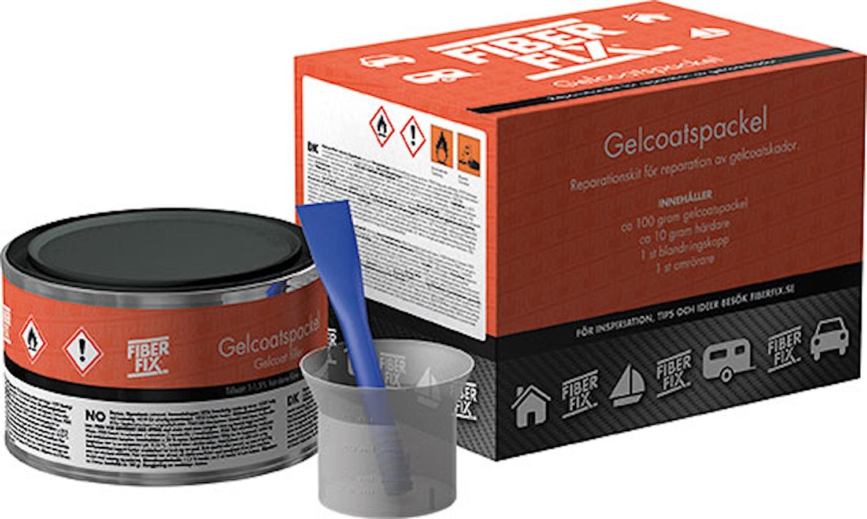 Gelcoatspackel J9000 svart