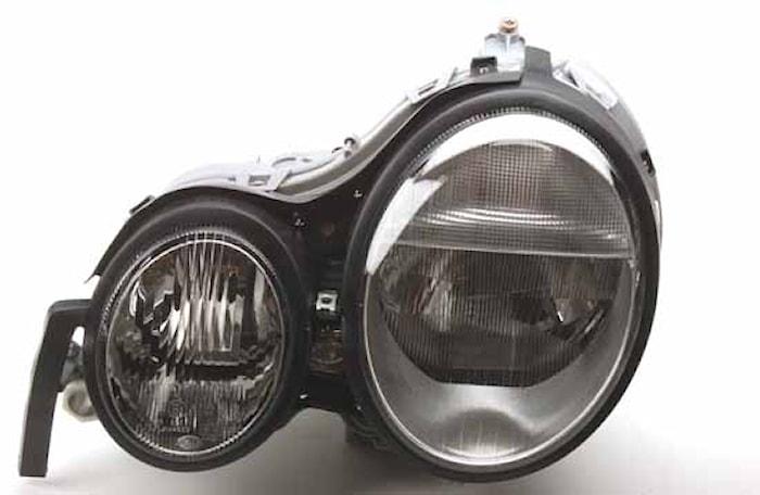 Strålk vä H7/Xenon Merc W210