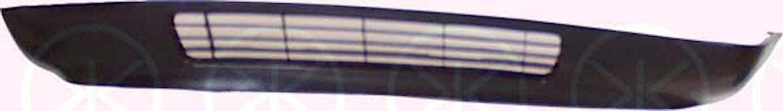 Frontspoiler m/hål f dimljus