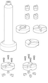 Stötdämparverktyg i plastlåda
