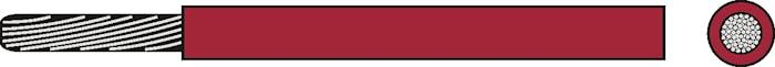 Kabel RKUB 1.0 röd