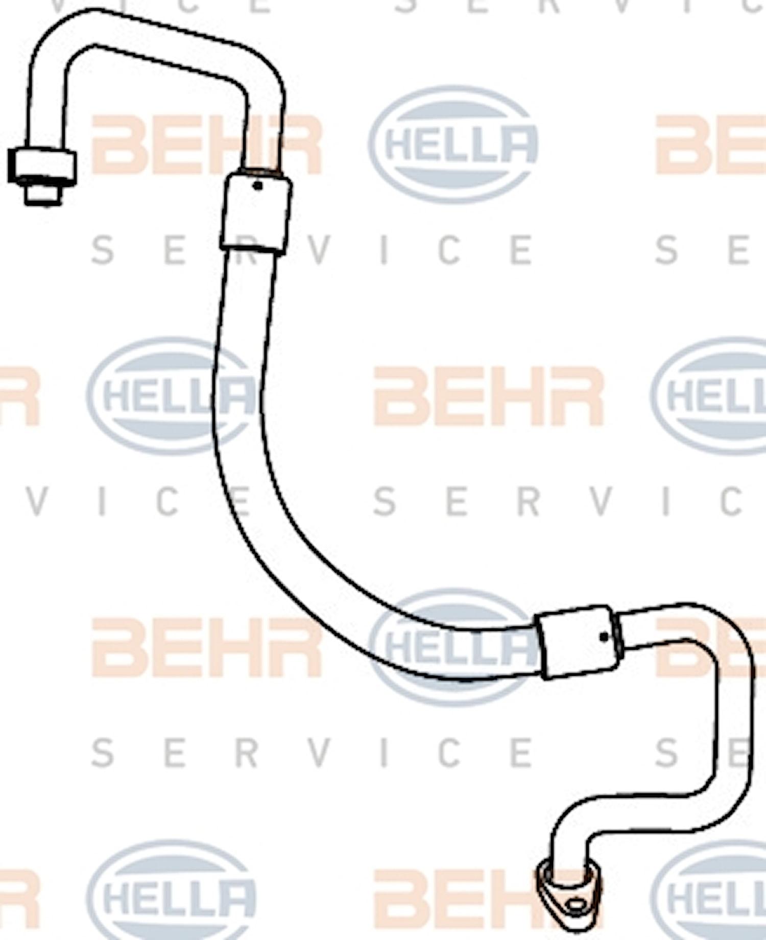 Rörsystem AC Tork-komp