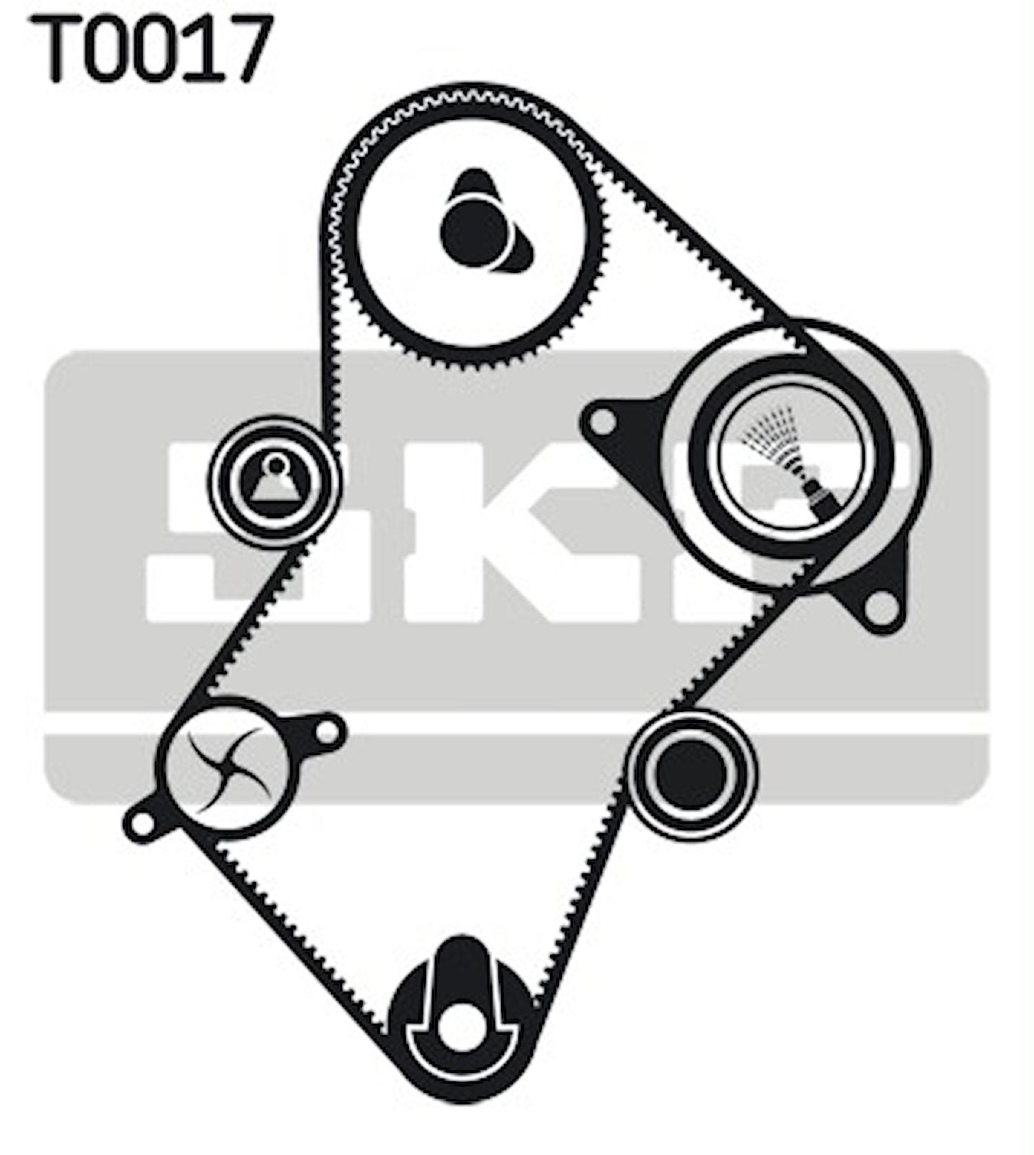 Kamremsats (48-25049XS)