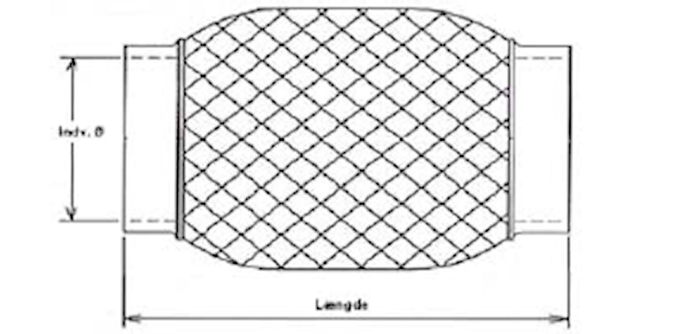 Flexrör 35,5x203,2
