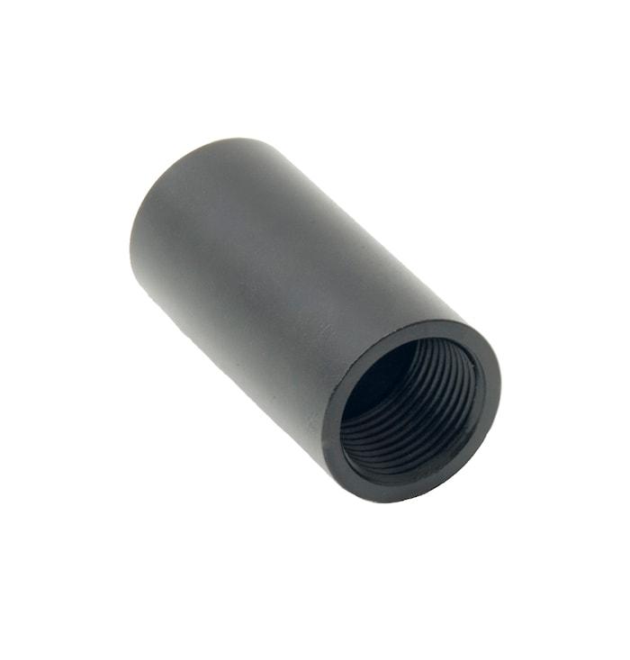 Zirkona rör 50 mm svart