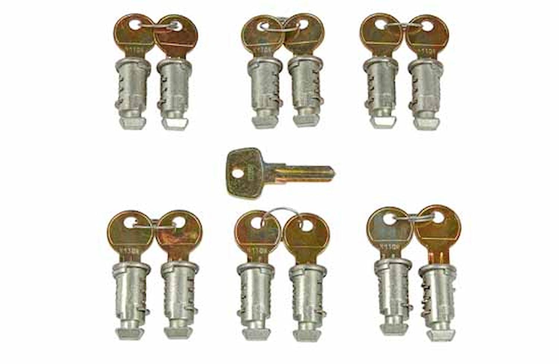 Låssats One Key-system 12-pack