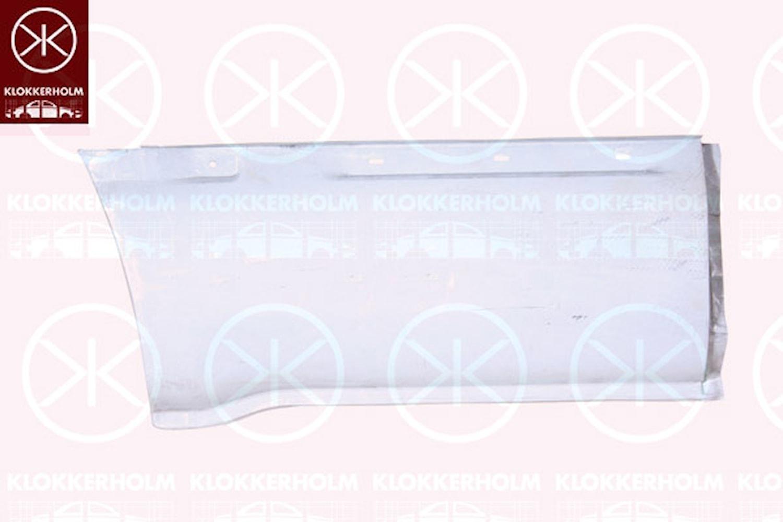 Sidovägg hjulhuskant