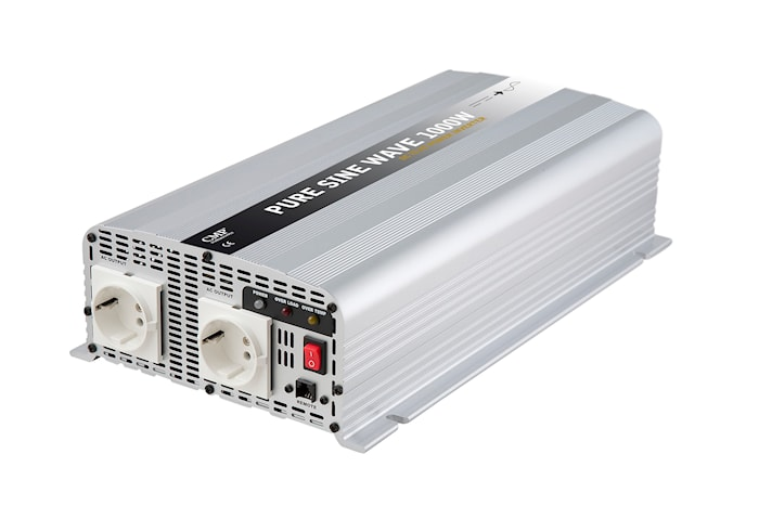 Inverter 1000W 24V äkta sinus