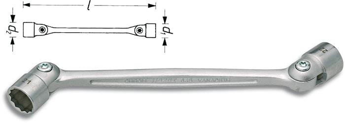 Lednyckel 14*15 mm