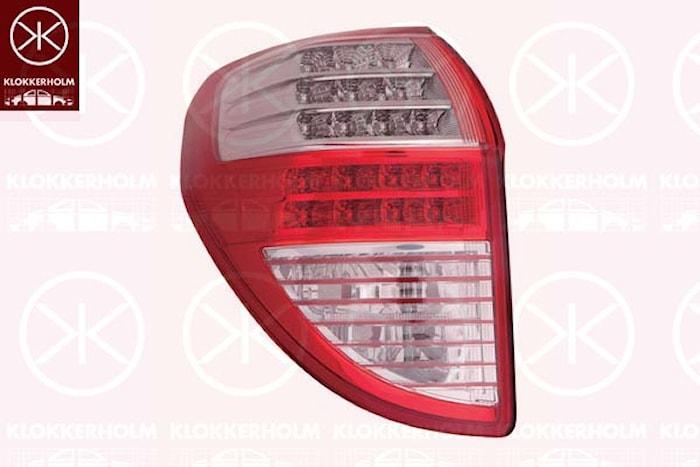 Kombinationsbakljus vä, LED