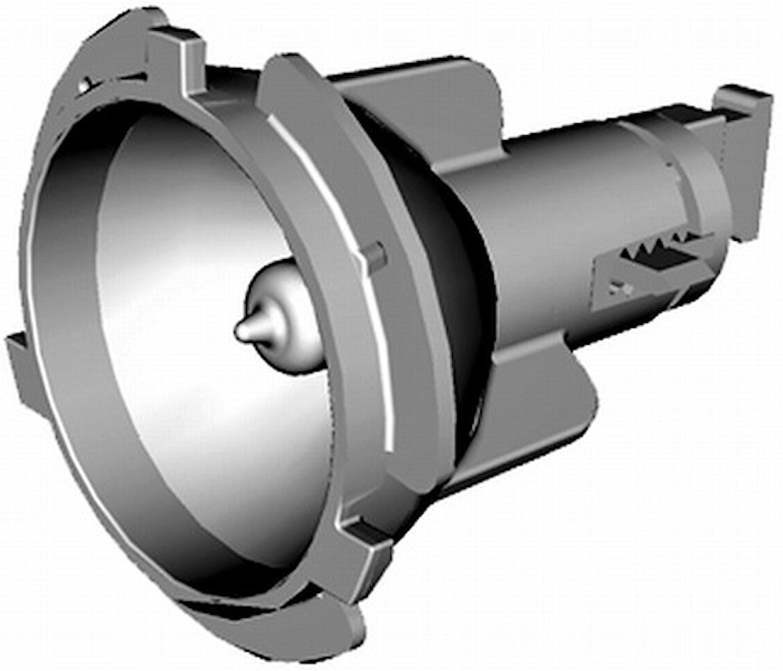 Reflektor för parkljus v/h