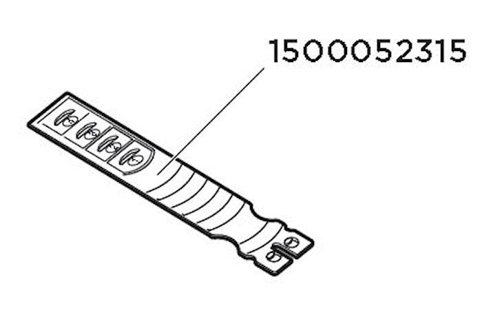 Fästband Edge 958X