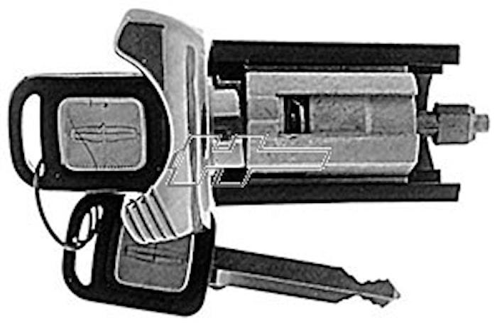 Tändningslåscylinder/Lincoln