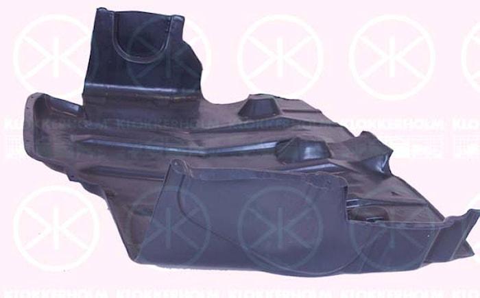 Skyddsplåt motor