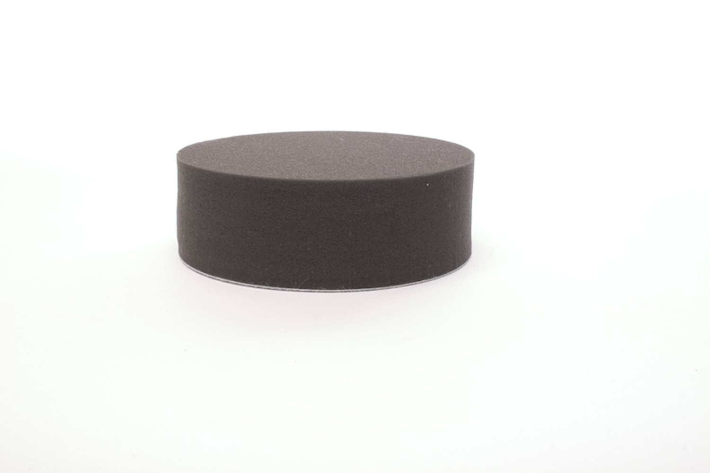 Polerrondell Svart 150 mm