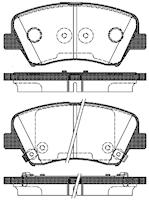Belägg HP T2261
