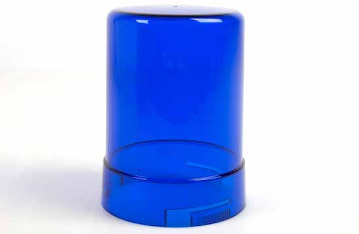 Lykthuv blå f varn.fyr KL600