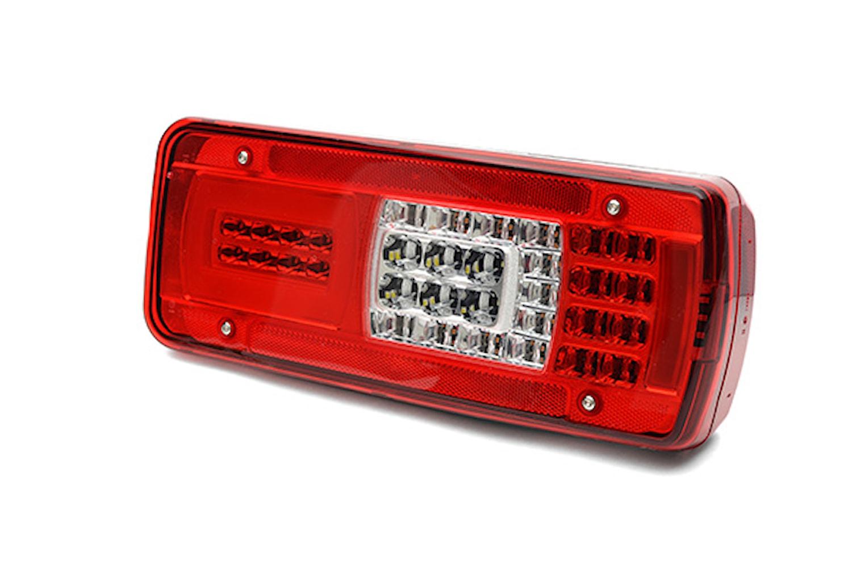 Baklykta vänster LED Scania