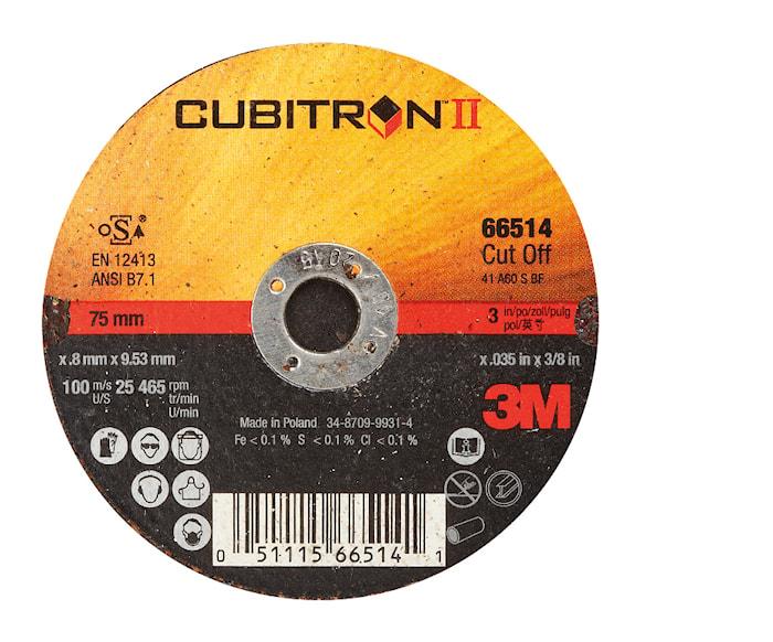 Kapskiva Cubitron II