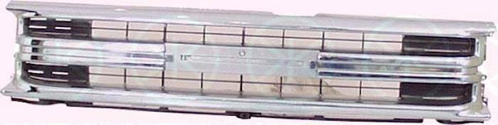 Kylargrill  chr/svart-91