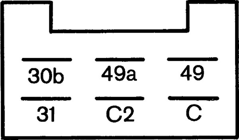 Blinkrelä 24V 6-ansl 2+1x21+5W
