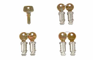 Låssats One Key-system 6-pack