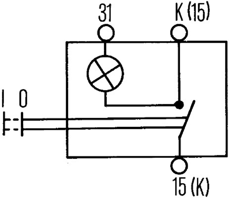 Dragströmbr slutande 0-1 grön