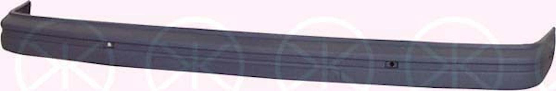 Stötfångare fram grå -90