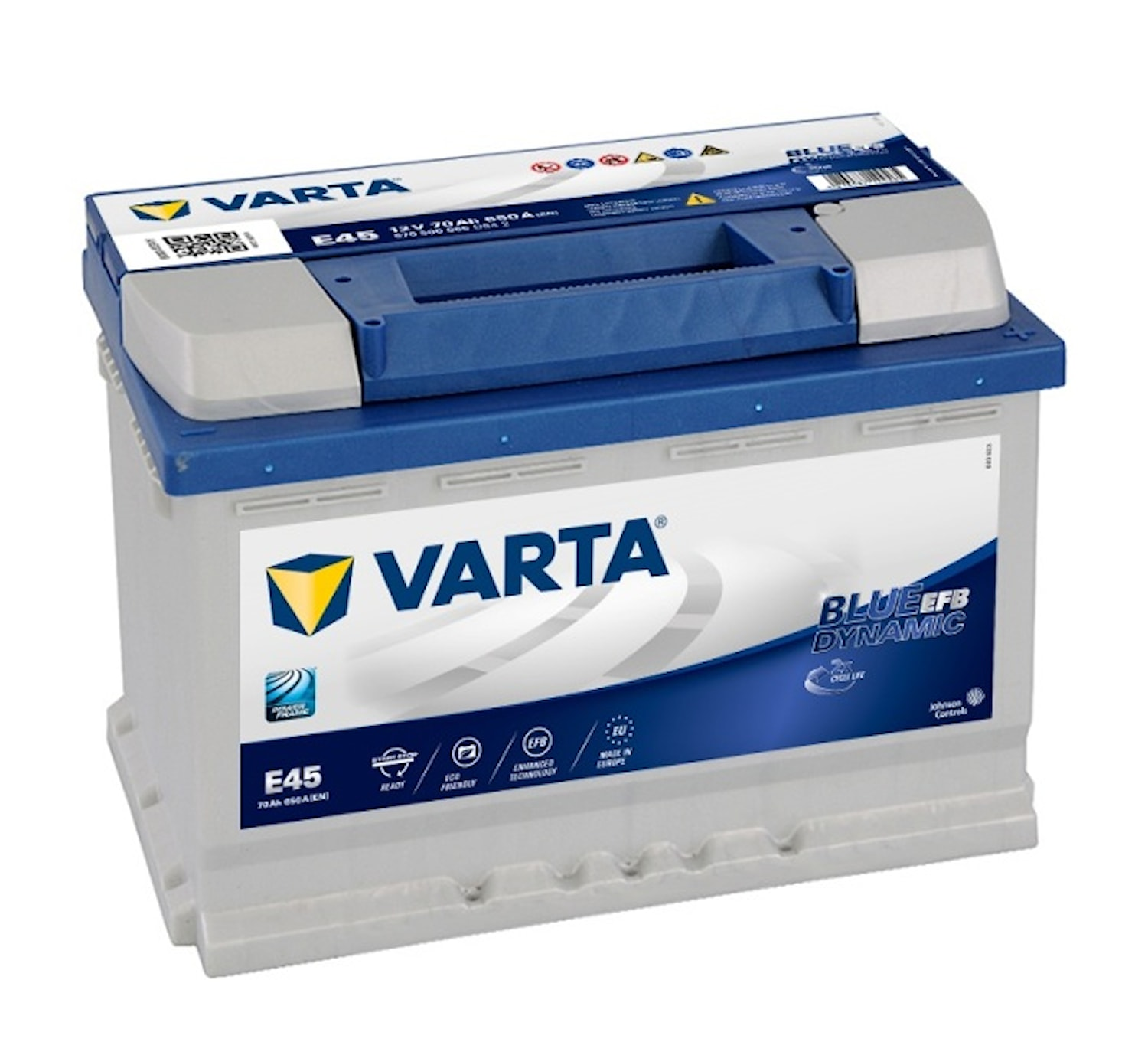 Batteri E45 Blue Dynamic EFB