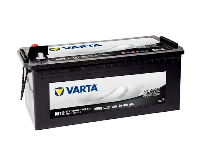 Batteri M12 PRO black HD180
