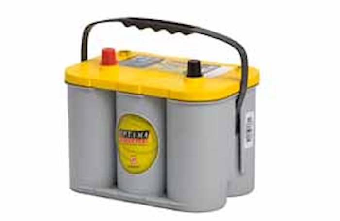 Batteri YTS4.2 YellowTop
