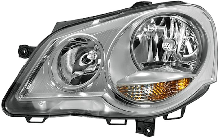Strålk vä H1/H7 VW Polo 4.05-
