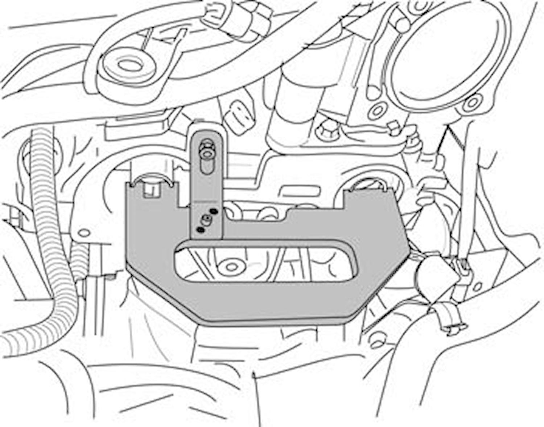 Låsverktyg kamrem Renault