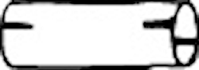 Skarvrör 45x160
