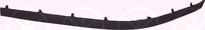 Stötfångarlist fram,svart,36mm