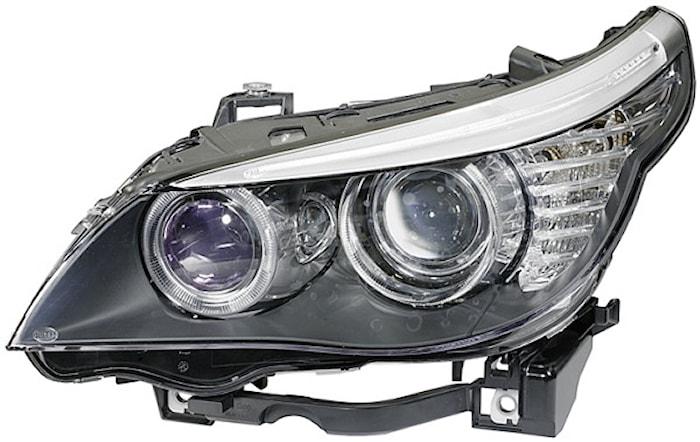 Strålkastare hö Xenon BMW 5-