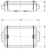 Kabelförbindn.box 12-polig