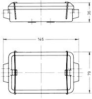 Kabelförbindn.box 8-polig