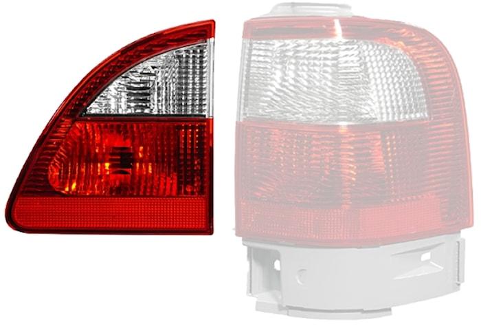 Lyktins hö vit/röd f bakl Ford