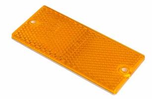 Reflex gul 90x40mm självhäft