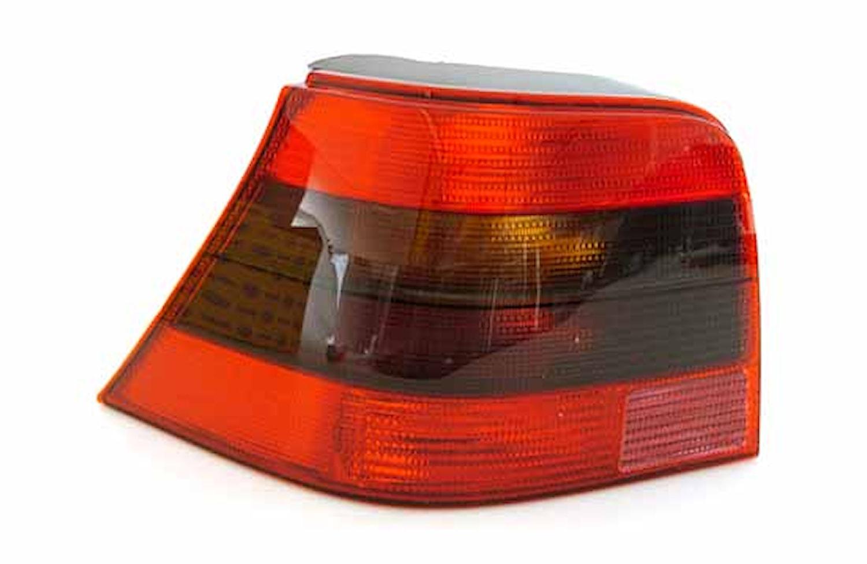 Lyktins vä svart/röd f bakl VW